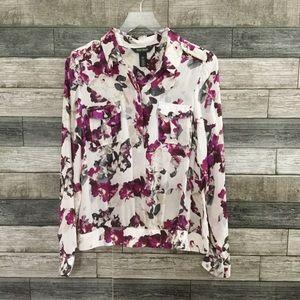 Talbots 100% silk blouse size 12